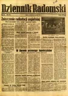 Dziennik Radomski, 1942, R. 3, nr 84