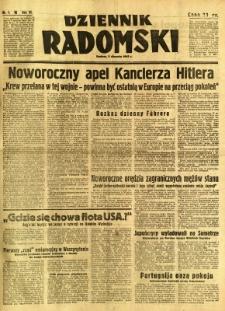 Dziennik Radomski, 1942, R. 3, nr 1