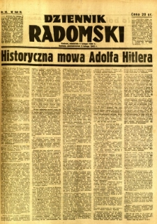 Dziennik Radomski, 1942, R. 3, nr 26