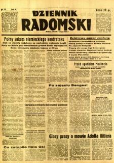 Dziennik Radomski, 1942, R. 3, nr 27