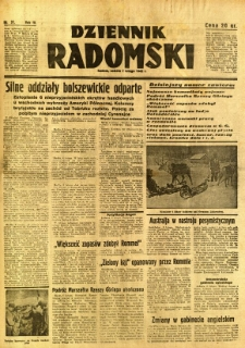 Dziennik Radomski, 1942, R. 3, nr 31