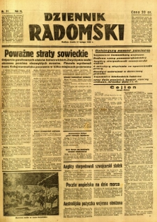 Dziennik Radomski, 1942, R. 3, nr 34