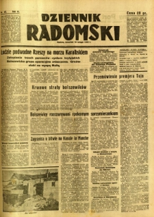 Dziennik Radomski, 1942, R. 3, nr 41