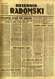 Dziennik Radomski, 1942, R. 3, nr 49