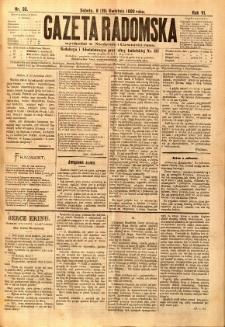 Gazeta Radomska, 1889, R. 6, nr 33