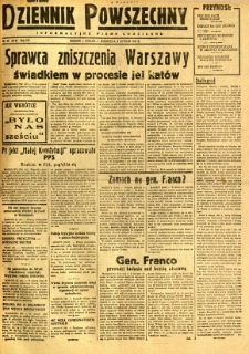 Dziennik Powszechny, 1947, R. 3, nr 33