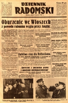 Dziennik Radomski, 1940, R. 1, nr 7
