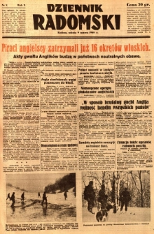 Dziennik Radomski, 1940, R. 1, nr 8