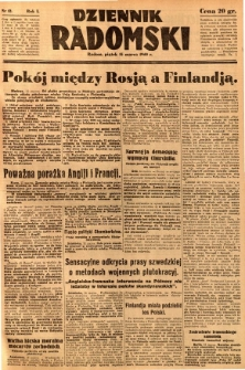 Dziennik Radomski, 1940, R. 1, nr 12
