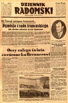 Dziennik Radomski, 1940, R. 1, nr 18