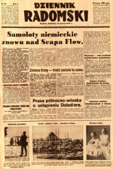 Dziennik Radomski, 1940, R. 1, nr 20