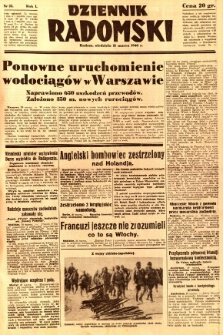 Dziennik Radomski, 1940, R. 1, nr 25