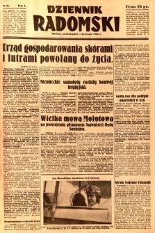 Dziennik Radomski, 1940, R. 1, nr 26