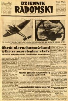 Dziennik Radomski, 1940, R. 1, nr 30