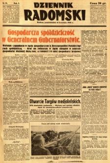 Dziennik Radomski, 1940, R. 1, nr 38
