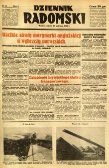 Dziennik Radomski, 1940, R. 1, nr 42