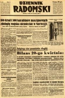 Dziennik Radomski, 1940, R. 1, nr 45
