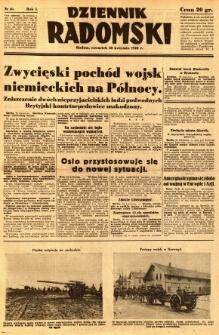 Dziennik Radomski, 1940, R. 1, nr 46