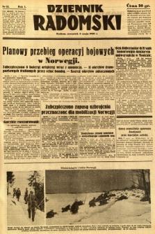 Dziennik Radomski, 1940, R. 1, nr 52
