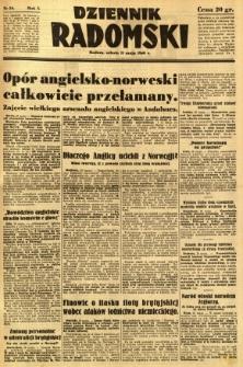 Dziennik Radomski, 1940, R. 1, nr 59