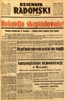 Dziennik Radomski, 1940, R. 1, nr 63