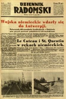 Dziennik Radomski, 1940, R. 1, nr 67