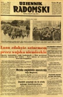 Dziennik Radomski, 1940, R. 1, nr 68
