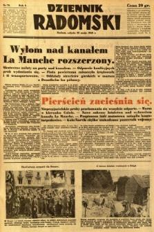 Dziennik Radomski, 1940, R. 1, nr 70