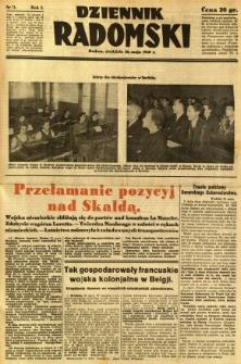 Dziennik Radomski, 1940, R. 1, nr 71