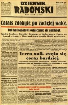 Dziennik Radomski, 1940, R. 1, nr 72