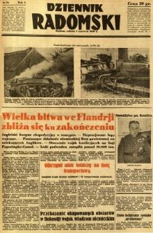 Dziennik Radomski, 1940, R. 1, nr 76