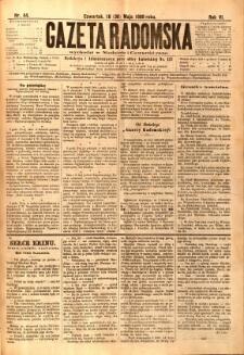 Gazeta Radomska, 1889, R. 6, nr 44