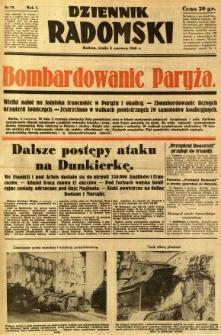 Dziennik Radomski, 1940, R. 1, nr 79