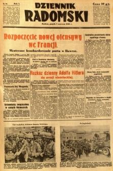 Dziennik Radomski, 1940, R. 1, nr 81