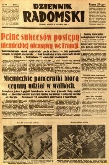 Dziennik Radomski, 1940, R. 1, nr 84