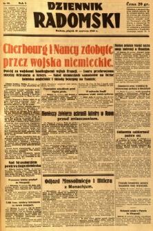 Dziennik Radomski, 1940, R. 1, nr 93