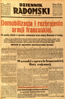 Dziennik Radomski, 1940, R. 1, nr 98