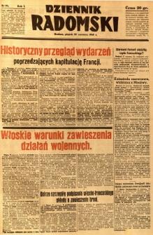 Dziennik Radomski, 1940, R. 1, nr 99