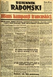 Dziennik Radomski, 1940, R. 1, nr 104
