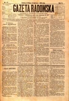 Gazeta Radomska, 1889, R. 6, nr 47