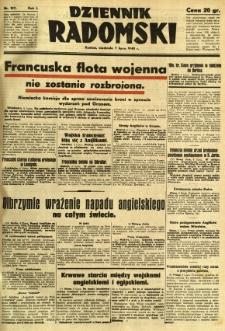Dziennik Radomski, 1940, R. 1, nr 107