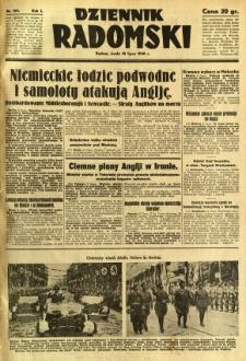 Dziennik Radomski, 1940, R. 1, nr 109