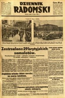 Dziennik Radomski, 1940, R. 1, nr 111