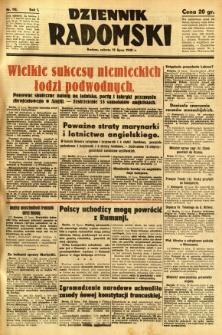 Dziennik Radomski, 1940, R. 1, nr 112