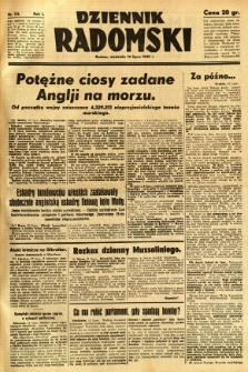 Dziennik Radomski, 1940, R. 1, nr 113