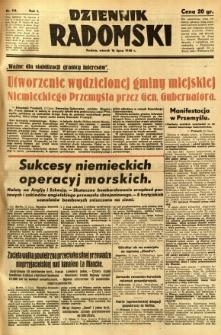 Dziennik Radomski, 1940, R. 1, nr 114