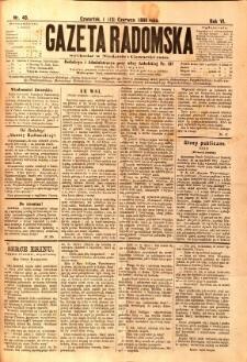 Gazeta Radomska, 1889, R. 6, nr 48