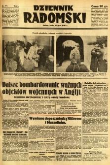 Dziennik Radomski, 1940, R. 1, nr 121