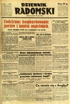 Dziennik Radomski, 1940, R. 1, nr 122