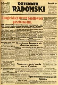 Dziennik Radomski, 1940, R. 1, nr 124